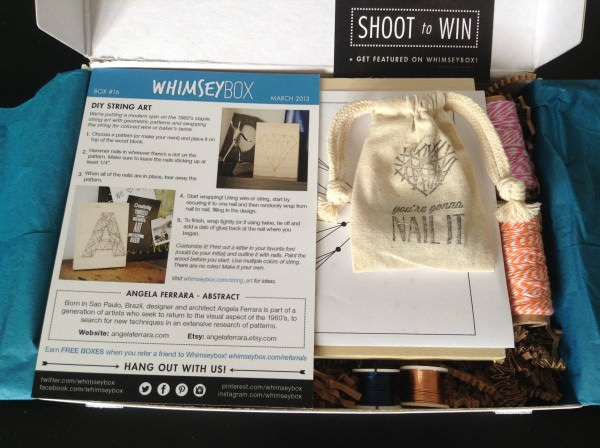 Whimseybox - March Review