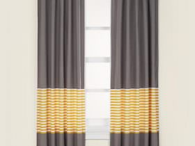 "New Curtains for Baby's Room From ""The Land of Nod""— Not a Peep Curtain Panels"