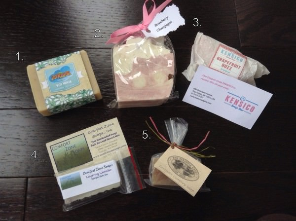 Sweet Delight Divalicious Sample Box — Soaps