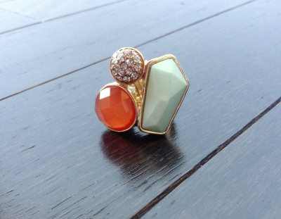 Jewel Statement Ring (Myntbox - June Review)