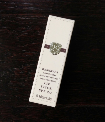 29 Cosmetics Reserves Moisturizing Lipstick (SPF 20) - Expressive Rose