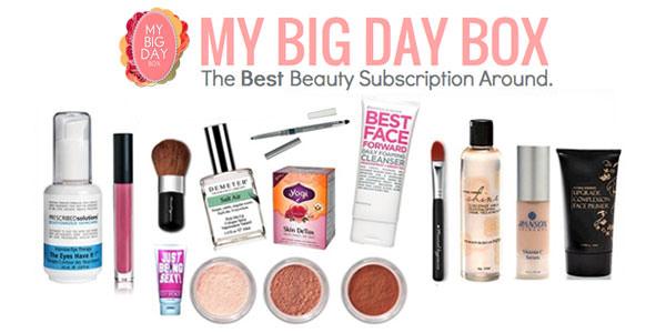 My Big Day Box -  New Subscription Box Coming Soon