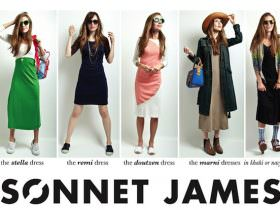 Sonnet James: Play Dresses for Playful Moms