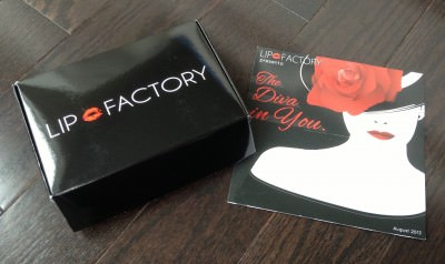 Lip Factory Inc. - August Review