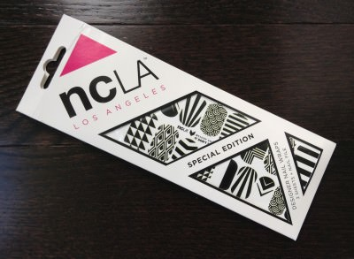 NCLA Nail Wraps - It Don't Matter (Lip Factory Inc. - July Review)