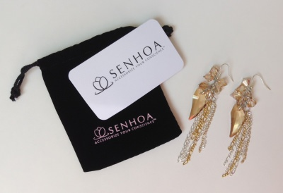 Senhoa Sovana Earrings (Coco Rocha Fancy Box - July Review)