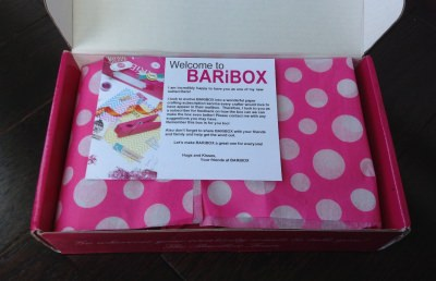 BARiBOX - August Review