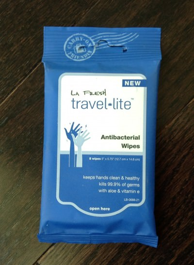 La Fresh Travel Lite Antibacterial Wipes