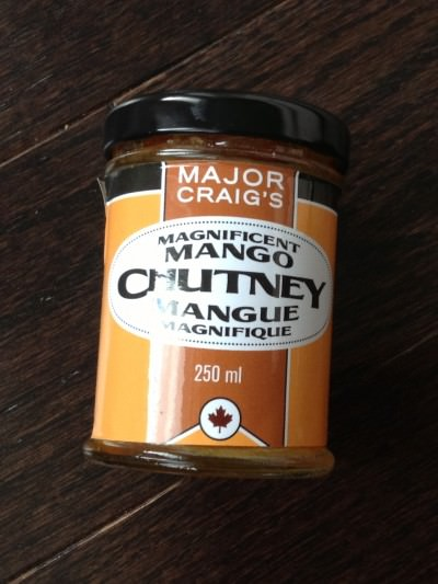 Magnificent Mango Chutney from Major Craig's (Ottawa, ON)