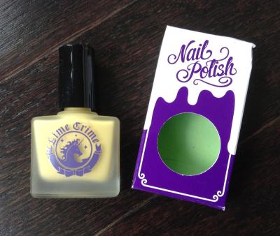 Lime Crime Nail Polish (Crema de Limon)