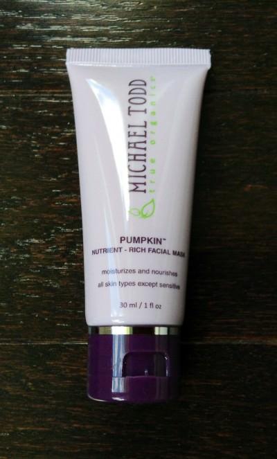 Michael Todd Pumpkin Nutrient-Rich Facial Mask