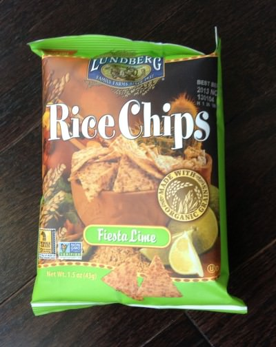 Lundeberg Rice Chips (Fiesta Lime)