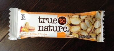 True To Nature Bar (Pistachios & Mixed Berries)