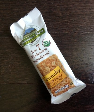 Cascadian Farm Crunchy Oats and Honey Granola Bar