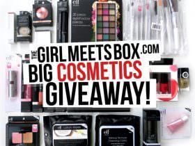 Girl Meets Box Big Cosmetic Giveaway