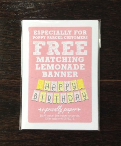 Especially Paper - Lemon Tag Pack w/ Free Printable Birthday Banner