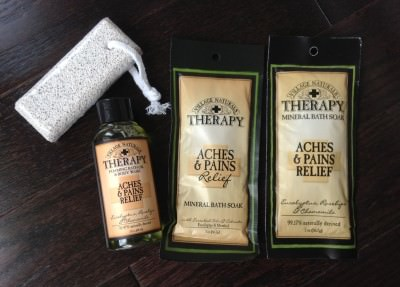 Village Naturals Therapy Aches & Pains Relief in Eucalyptus, Rosehips & Chamomile