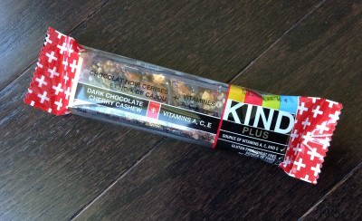 KIND Bar (Dark Chocolate Cherry Cashew + Antioxidants)