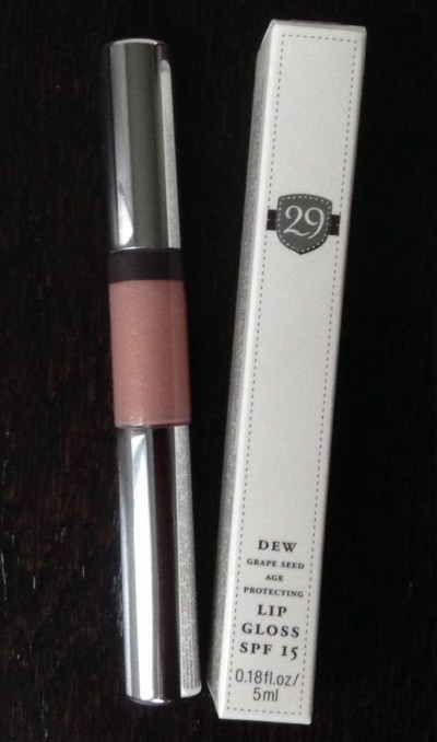 29 Cosmetics Dew Grapeseed Lip Gloss SPF 15 (Pink Champagne)