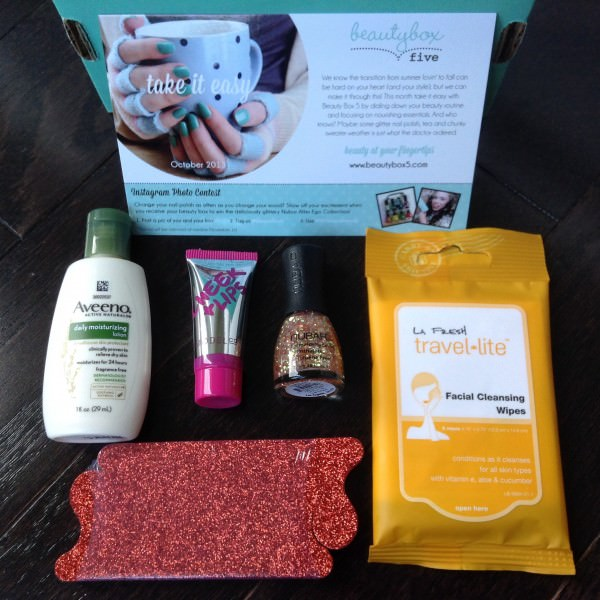Beauty Box 5 Review - October 2013