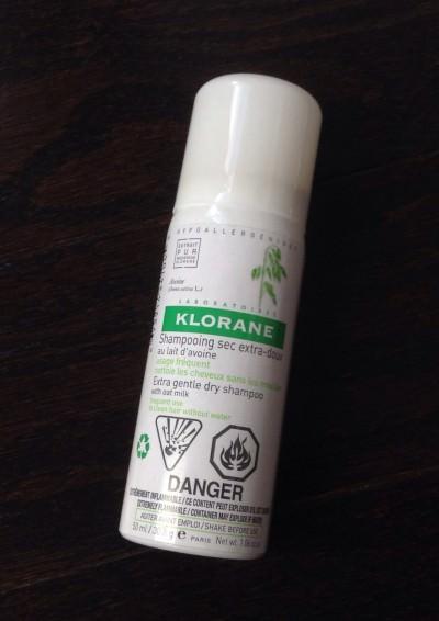Klorane Extra Gentle Dry Shampoo