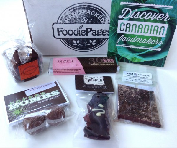 Foodie Pages Tasting Box Review - October 2013