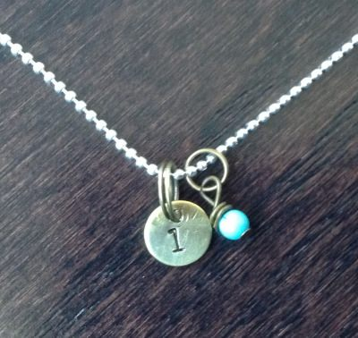 Three Chicks Couture - Customized Hand Stamped Necklace