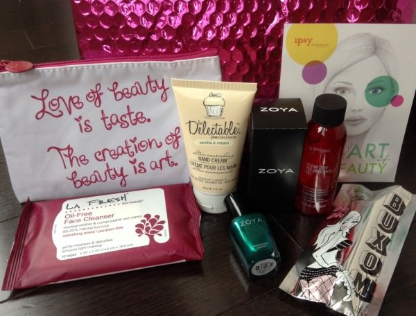 ipsy Glam Bag Review - October 2013