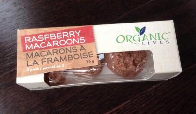 Organic Lives Raspberry Macaroons