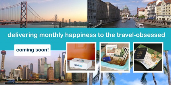 New Subscription Box - Travelbox