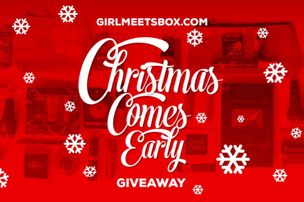 Christmas Comes Early Giveaway!