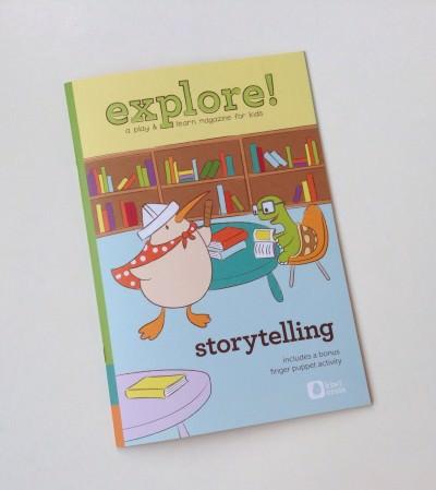 Explore Storytelling