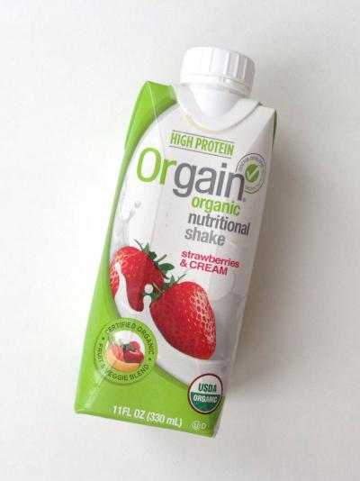 Orgain Organic Nutritional Shake (Strawberries & Cream)