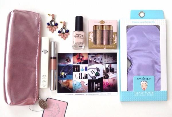 Wantable Romantic Rendezvous Hoilday Box Review - December 2013