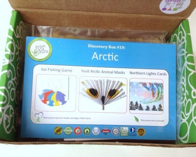 Green Kid Crafts - Arctic Discovery Box - First Look