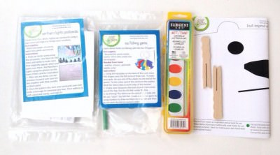 Green Kid Crafts - Arctic Discovery Box - Materials
