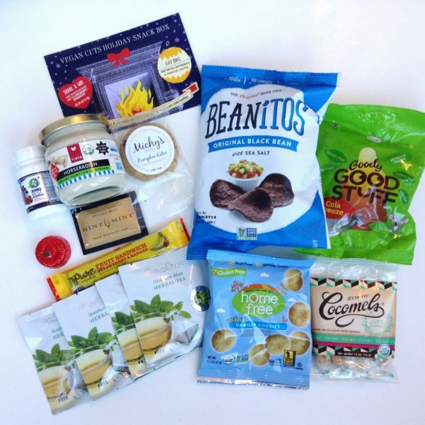 Vegan Cuts Holiday Snack Box Review - December 2013