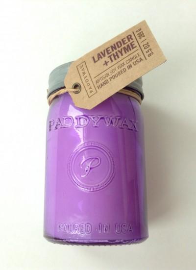 Lavender & Thyme Jar Candle