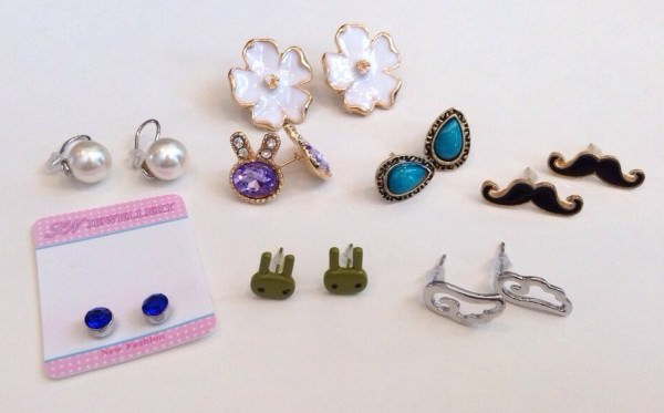 Treasure Pack Review - Earrings