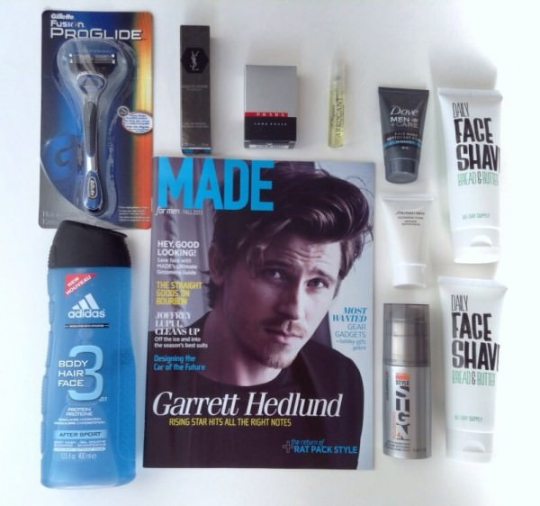 Limited Edition Men's Topbox Review - December 2013