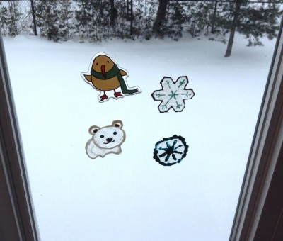 My Polar Window Clings