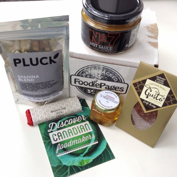 The Tasting Box by Foodie Pages Review – January 2014