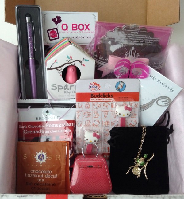 Q Box Review + Promo Code – Lifestyle Subscription Box – January 2014