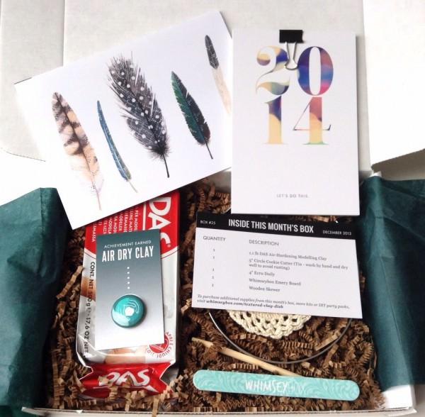 Whimseybox Review - December 2013