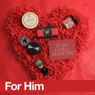 Valentine's Day Fancy Box For Him