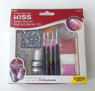 KISS - Salon Secrets Nail Art Starter Kit (Bonus)