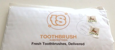 Toothbrush Subscriptions Review – February 2014