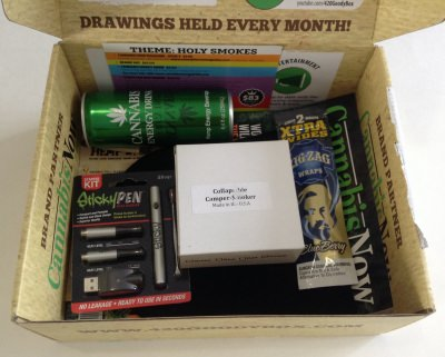 420 Goody Box Review + Coupon Code – January 2014