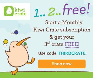 Kiwi Crate – 3rd Crate Free!