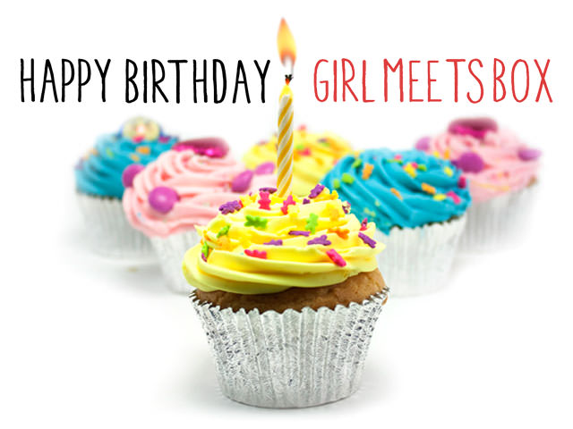 Happy Birthday Girl Meets Box